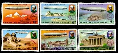 MADAGASCAR 75th Anniversary of the Zeppelin MNH set