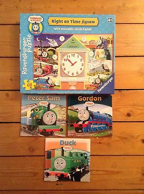 Thomas The Tank Engine Jigsaw Puzzle And 3 Story Books
