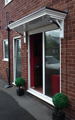 2Mtr Flat Top Scrolled Grp Front Door Canopy