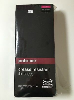 Crease Resistant Flat Bedding Sheet - Size Double