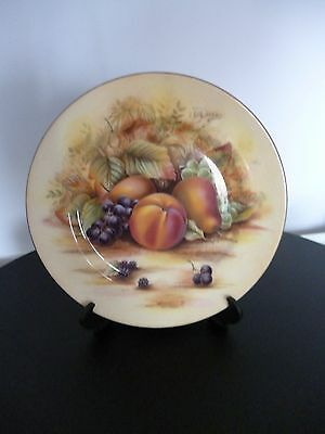 aynsley orchard gold dinner plate