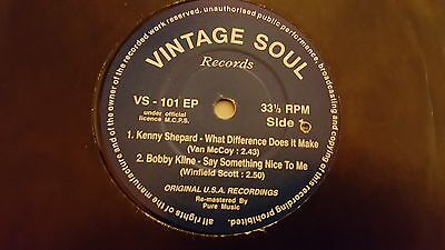 Kenny Shepard What Difference Does It Make  E.p  Northern Soul