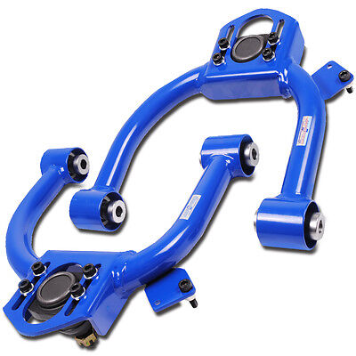 Japspeed Honda Accord 2003-2007 Adjustable Suspension Front Upper Camber Arms