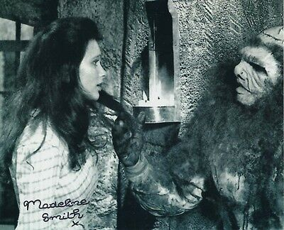 Madeline Smith Signed Photo - B336 - Frankenstein and the Monster from Hell