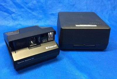 Polaroid Spectra System SE (Special Edition) Mint Condition Case Included