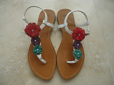 M&S  new sandals size 4 girls brand new