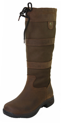 Dublin River Boots With Waterproof Membrane - Chocolate