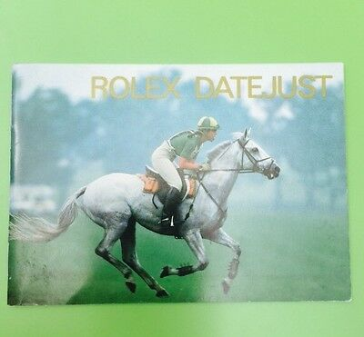 Your Rolex Date just Booklet - English 5.1997