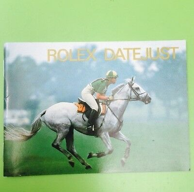 Your Rolex Date just Booklet - English 10. 1997