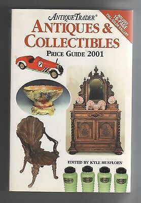Antiques & Collectibles Price Guide 2001 Antique Trader Softcover Krause 900 Pgs