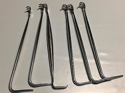 Sklar Retractor Set Lot of 6 Stainless Steel Germany