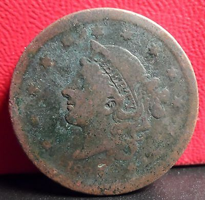 Better Early Date 1839 Braided Hair Large Cent
