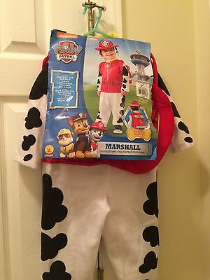 **New** Paw Patrol Halloween Costume Size Toddler 3-4