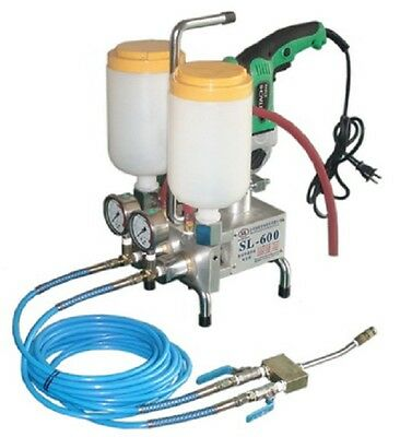 Two-component epoxy/urethane injection pump
