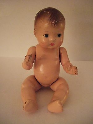 effanbee jointed composition doll tinyette approx. 7 in  Dionne Quint ?1930's