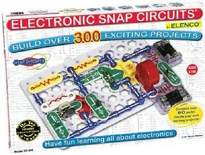 NEW Snap Circuits Electronics Discovery Kit (SC-300, 2012) FREE PRIORITY SHIP