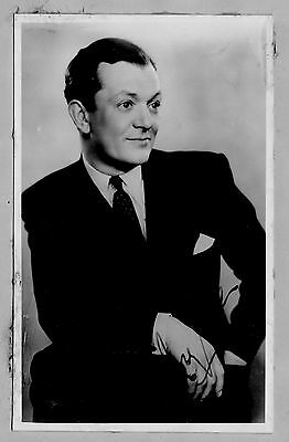 Mr. Bobby Howes, Actor,  Signed Autograph Photo 1940's.