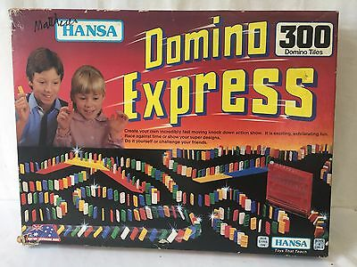 Vintage Domino Express by Hansa 1980s Game