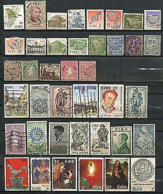 Ireland  A Small Collection Of Approx 100  Fine Used Stamps