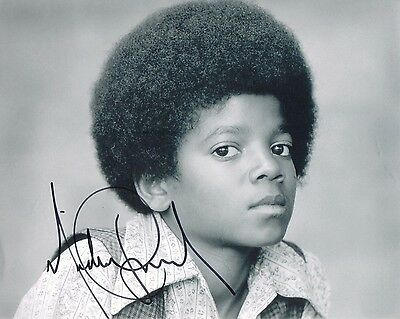 Michael Jackson Young Signed Autographed 8x10 Photo Reprint