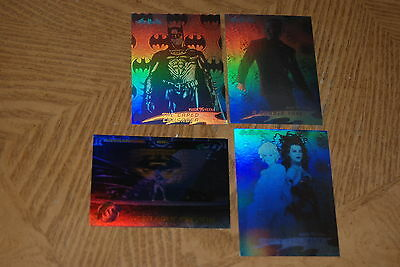 1994 DC Fleer Saga of The Dark Knight 2-Trading Cards Portraits of  Batman Chase