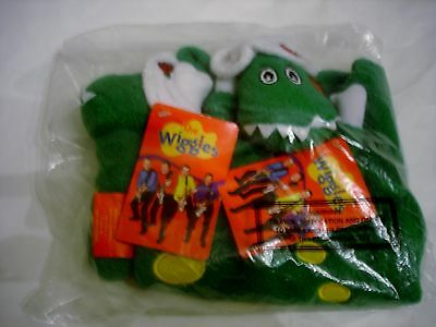 The Wiggles Dorothy the Dinosaur baby blanket and plush rattle NEW w/ Tags