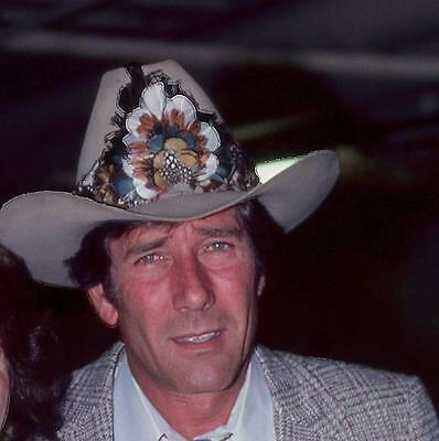 Robert Fuller Handsome In Cowboy Hat  8X10 Photo 244