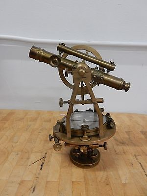 c1880's ANTIQUE W&L. E GURLEY TRANSIT / TROY, NY SURVEYING ENGINEER