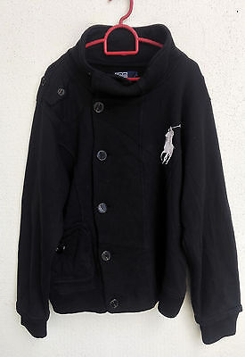 Rare Polo By Ralph Lauren Jacket Sweater Big Pony Punk Design Luxury Fashion