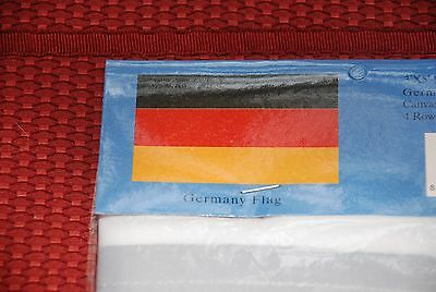 GERMANY / FLAG /3x5 ft,/grommets,4 rows sewn per side