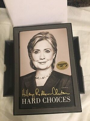Hard Choices, Hillary Clinton. Signed Edition w Case. 2014