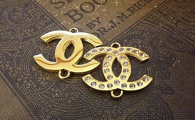 Set of 2 Reversible Chanel Charms