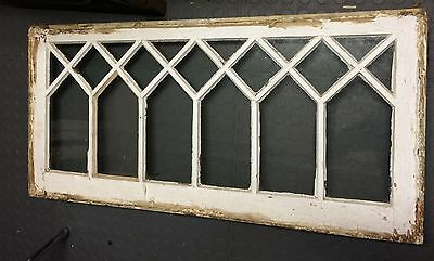 Antique Tudor Mission Old Window Sash Diamond Old Shabby Cottage Chic Wedding