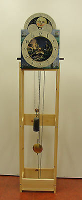 Long Case Clock Movement Test Stand
