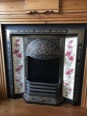 Victorian Styled Iron Fireplace