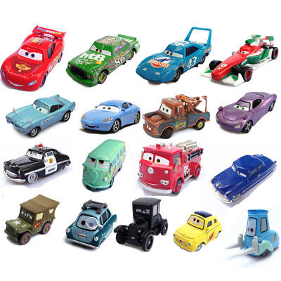 HOT Film Cars Lot Lightning McQueen &Sally Diecast 1:55 Metal Car Kids BOY Toy