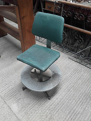 Vintage Machinists Chair.