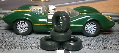 1/32 URETHANE SLOT CAR TIRES 2pr 21x6 fit Strombecker