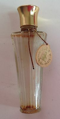 Vintage miniature glass perfume bottle - Jicky by Guerlain Paris made in France