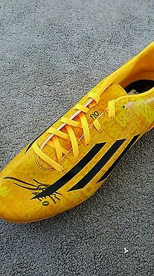 Adidas football boot signed by Lionel Messi with Certificate of Authenticity