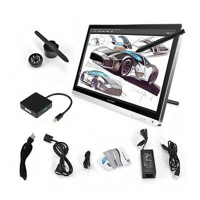 """UK Stock Huion GT-220 Monitor 21.5"""" HD Professional Art Graphic Tablet Screen"""