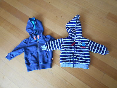 Jack & Milly and Target hoodies x 2 size 0 fit  6 - 12 months