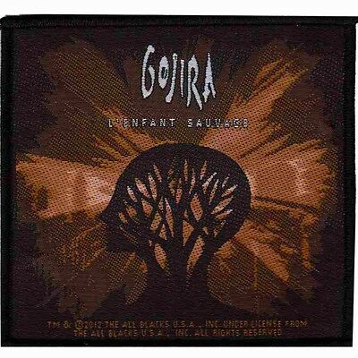 Official Licensed - Gojira - L'enfant Sauvage Sew On Patch Metal Prog