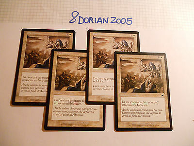 4x MTG Pacifismo-Pacifism Magic EDH ONS Assalto ITA-ING Onslaught Legacy Modern