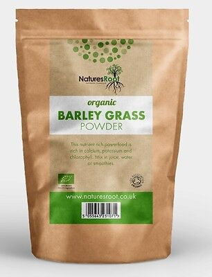 Certified Organic Barleygrass Powder - Detox Cleanse, Diet Weight Loss ALL SIZES