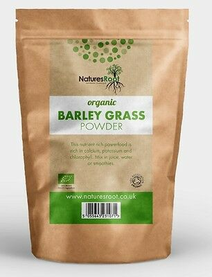 Organic Barleygrass Powder - Barley Grass Detox Green Juice Cleanse Weight Loss