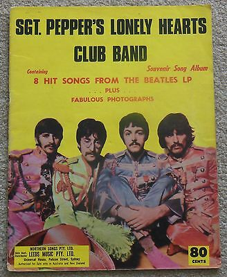 THE BEATLES - SGT. PEPPERS LONELY HEARTS CLUB BAND sheet music