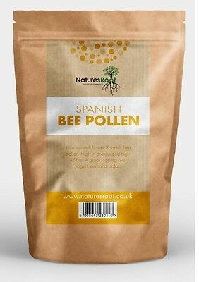 Premium Spanish BEE POLLEN Raw Granules  - 100% Natural | Whole Foods ALL SIZES