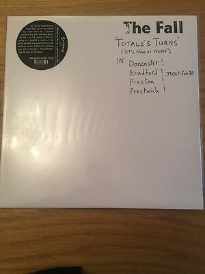 The Fall Totales Turns Earmark Records Issue Sealed LP
