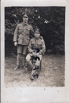 WW1 soldier group 1st Battalion ? Royal Fusiliers in France 24th Division 1918